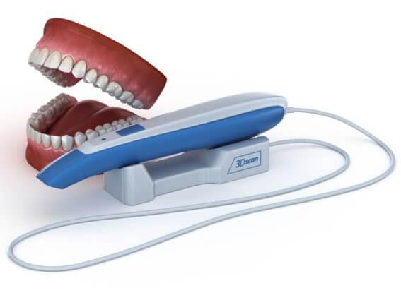 3D Scanner für Infraoral Zähne